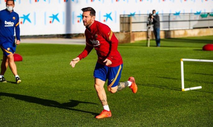 Месси на месте. Четыре игрока Барселоны вернулись в расположение после международной паузы