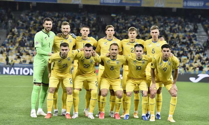 Украина поднялась на одну строчку в рейтинге сборных ФИФА