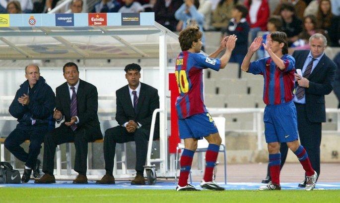 Как все начиналось. 16 лет назад Лео Месси дебютировал за Барселону