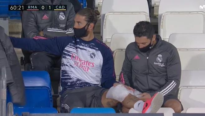 Рамос повредил колено и может пропустить матчи с Шахтером и Барсой - изображение 1