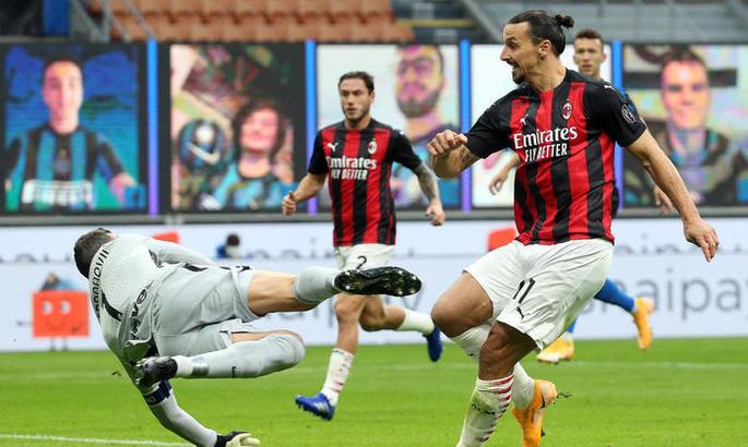 Серия А. Интер - Милан 1:2. Все равны, кроме Златана