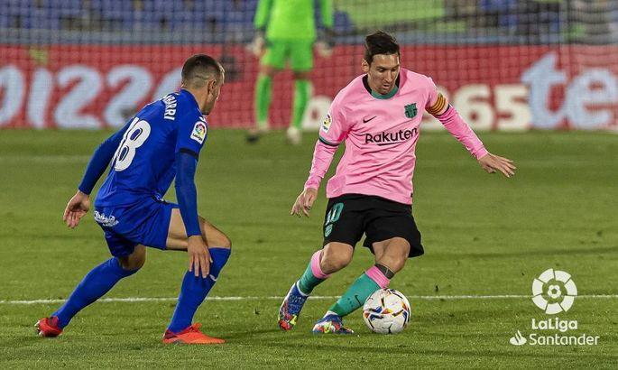 Молотом по голове. Хетафе - Барселона 1:0. Обзор матча и видео гола