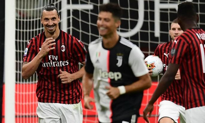 """""""Ибрагимович больше влияет на команду, чем Роналду"""". Итальянский тренер хвалит Златана"""