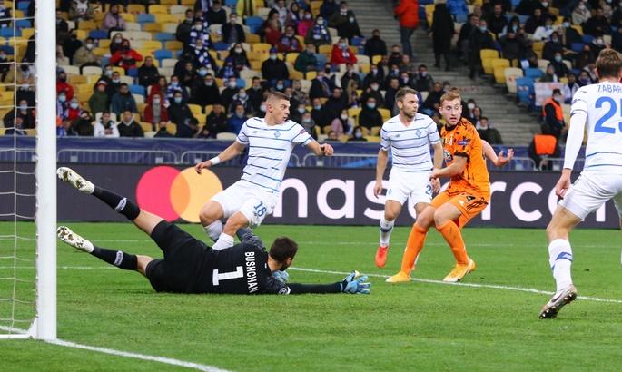 Перший гол групового етапу. Мората забив в ворота Динамо на початку другого тайму. ВІДЕО