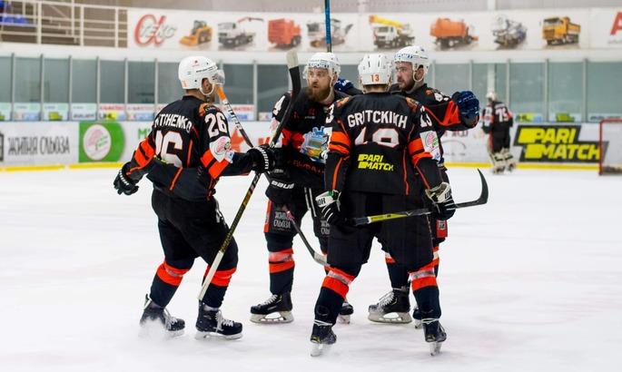 Кременчук в овертаймі обіграв Донбас і став чемпіоном України з хокею