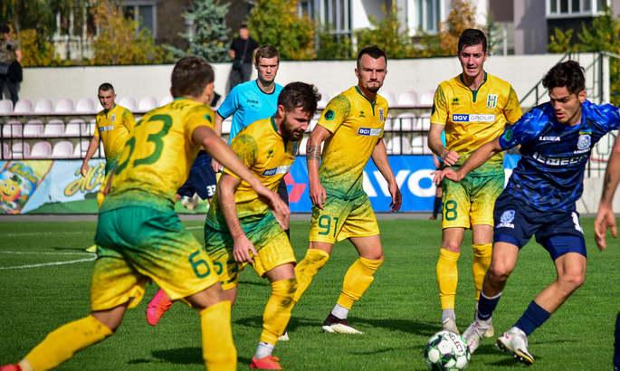 Первая лига. Уверенная победа Полесья над Кремнем