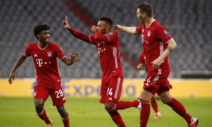 Б-У-У-М! Классный гол Толиссо в матче Бавария - Атлетико. ВИДЕО