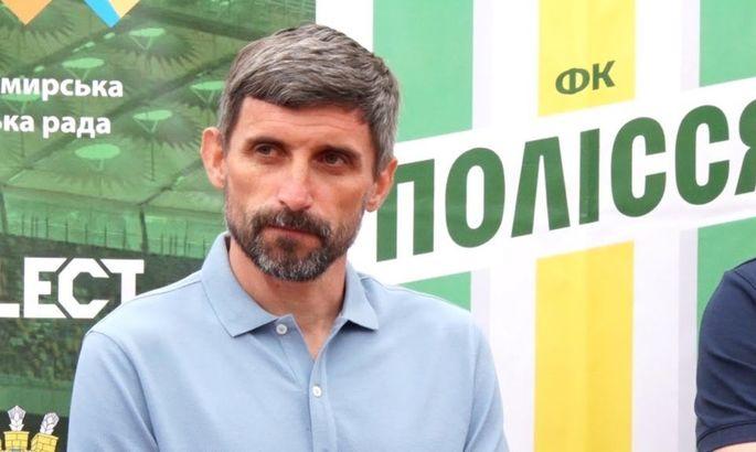Наставник Полесья Шищенко признан лучшим тренером 8-го тура в Первой лиге
