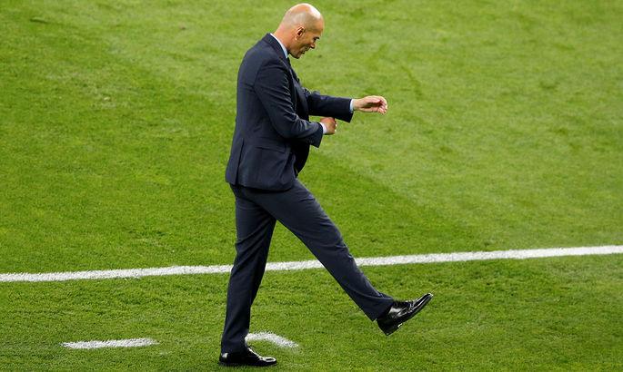 L'Équipe: Эль-Класико и матч с Боруссией М определят судьбу Зидана в мадридском Реале