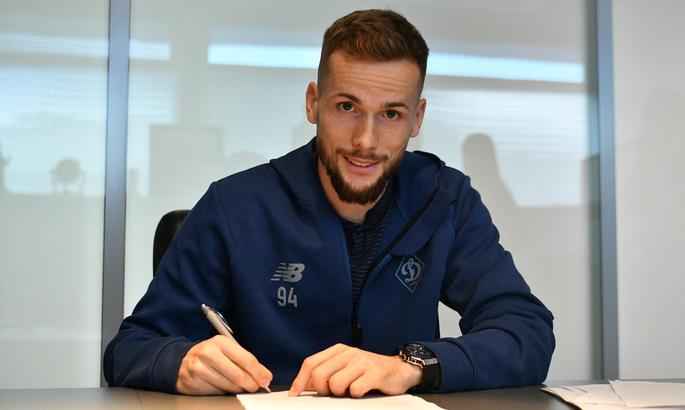 Динамо подписало новый длительный контракт с легионером