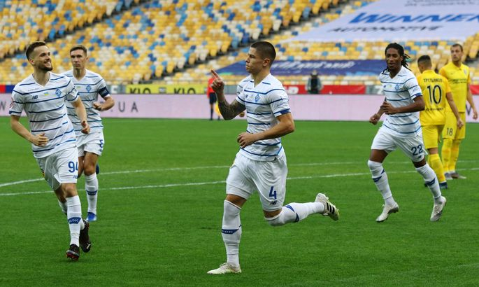 Хорошая разминка между матчами ЛЧ. Динамо - Александрия 1:0