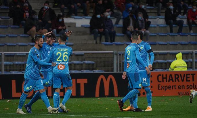 Лига 1. Лорьян - Марсель 0:1. Слишком мокро для качественного футбола