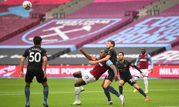 Вест Хэм - Манчестер Сити 1:1. Обзор матча и видео голов