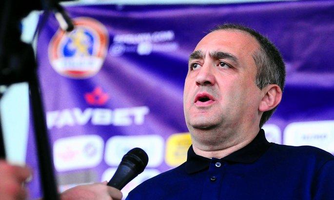 Георгий Цецадзе подал в отставку с поста главного тренера ФК Львов