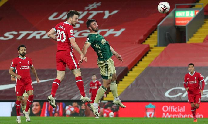 АПЛ. Ліверпуль - Шеффілд Юнайтед 2:1. Програма мінімум