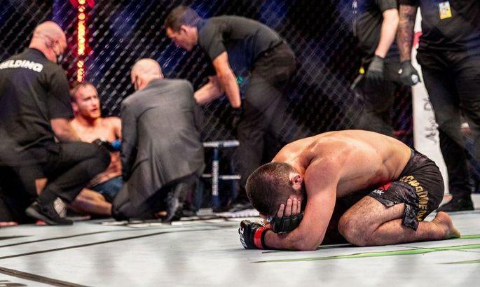 Хабіб розплакався після перемоги над Гейджі. Відео