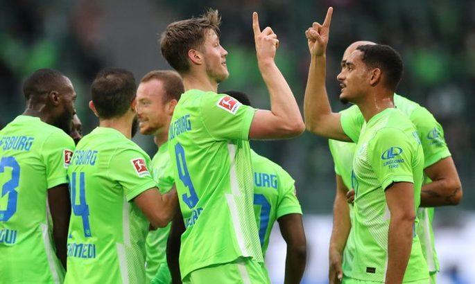 Бундеслига. Первая победа Вольфсбурга в новом сезоне