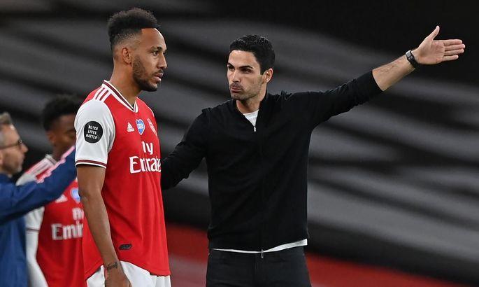 """""""Арсенал смог забить гол, однако я не понимаю, какого черта он был отменен"""". Артета – о проигрыше Лестеру"""