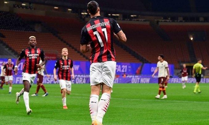 Серия А. Милан - Рома 3:3. На этот раз дубля Ибры не хватило