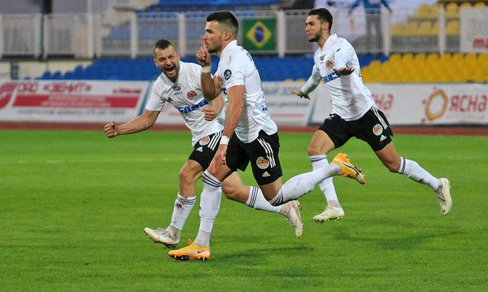 Габовда оформил дубль в матче чемпионата Беларуси