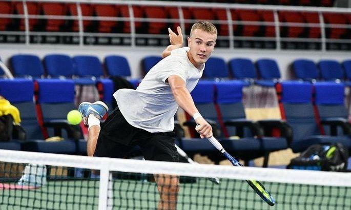 Виталий Сачко пробился в полуфинал турнира в Лиме