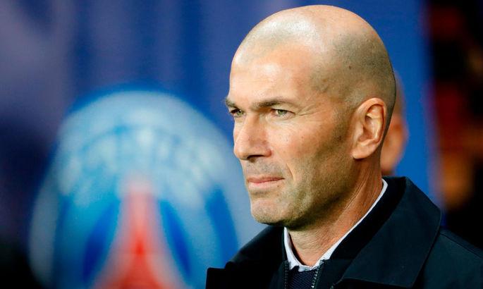 СМИ: Пари Сен-Жермен контактировал с Зиданом – тренер Реала может заменить Тухеля