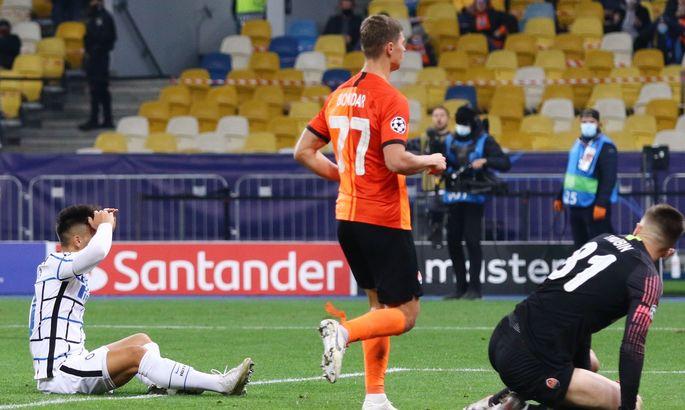 Впервые за последние пять лет Шахтер сыграл на ноль пропущенных в матче основного раунда Лиги чемпионов