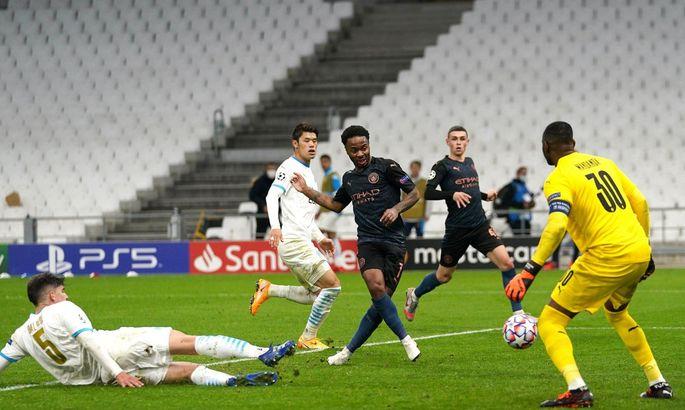 Марсель - Ман Сити 0:3. Зинченко пока слаб, но партнеры на высоте