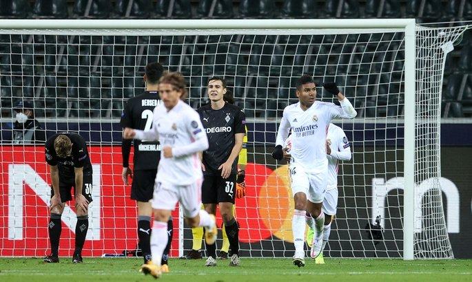 Боруссия Менхенгладбах - Реал 2:2. Мадрид вытащил себя за волосы из болота