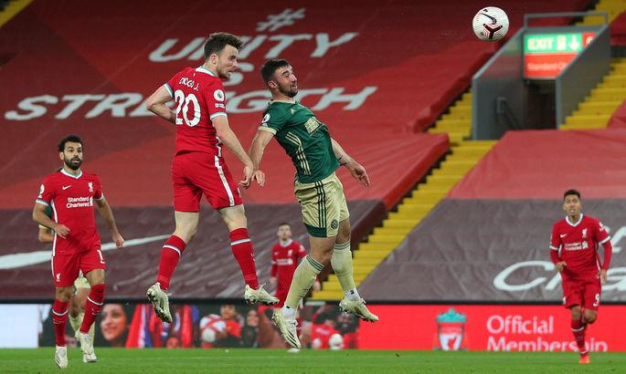 Пришел и сразу вписал свое имя в историю: новичок Ливерпуля забил 10000-й гол клуба во всех турнирах