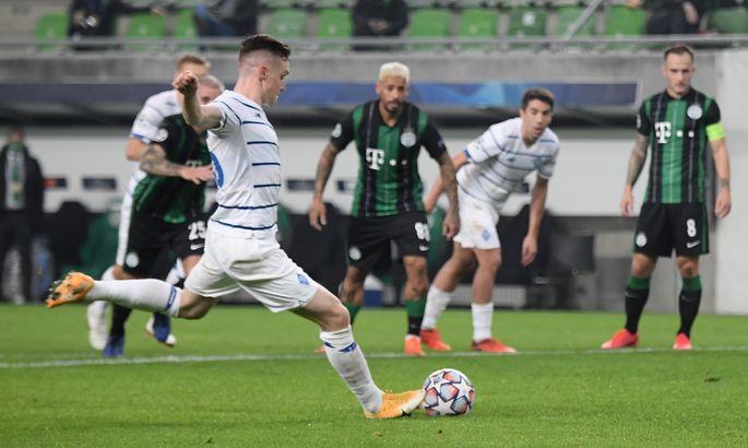 Ференцварош - Динамо 2:2. Відео голів і огляд матчу