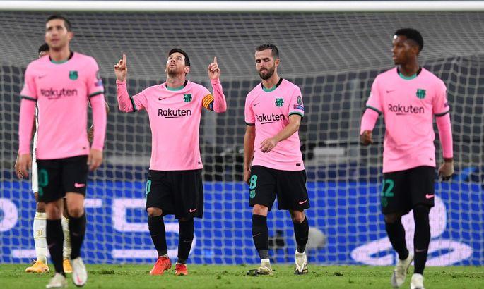 Ювентус - Барселона 0:2. Видео голов и обзор матча