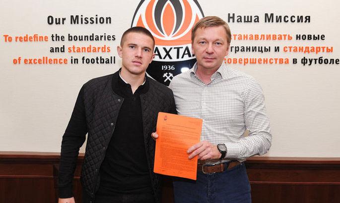 Шахтер раскрыл детали нового контракта с Виктором Корниенко