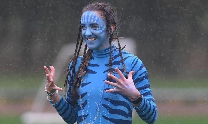 Очаровательные футболистки Арсенала появились на тренировку в хэллоуинских костюмах. ФОТО