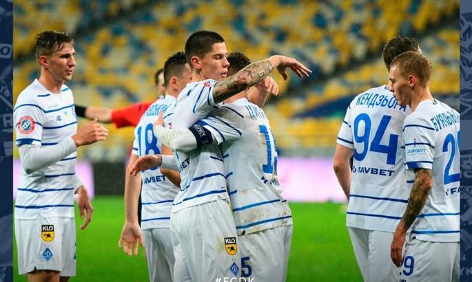 СК Днепр-1 - Динамо 1:2. Обзор матча и видео голов