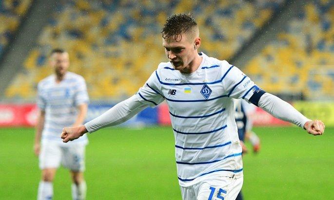 Цыганков вышел на 8-е место в списке лучшим бомбардиров Динамо в чемпионате Украины