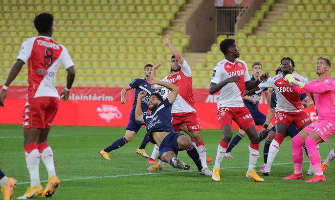 Лига 1. Монако - Бордо 4:0. Разгром за три минуты