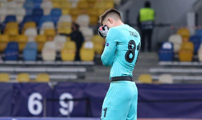 WhoScored: Трубин - худший игрок матча Шахтер - Боруссия