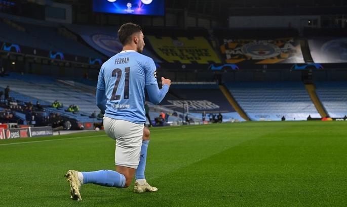 Манчестер Сити –Олимпиакос 3:0. Спокойная победа горожан
