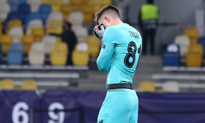 Трубин: Будем доказывать, что результат первого матча с Боруссией - чистая случайность