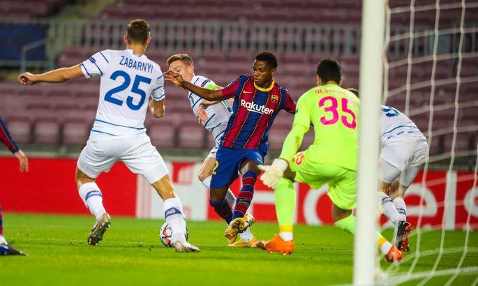Барселона - Динамо 2:1. Отличная игра с неудовлетворительным результатом