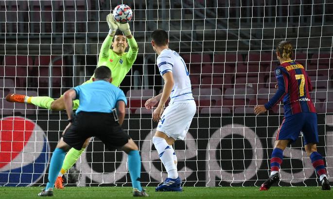 Нещерет выдал лучший вратарский показатель в Лиге Чемпионов за последние семь лет