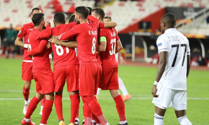3 из 3. Кайоде продолжает забивать за Сивасспор в каждом матче Лиги Европы