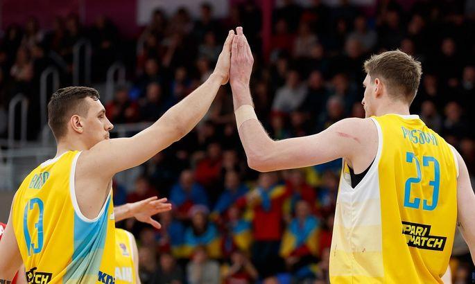 Зал Дворца Спорта разделят на 4 зоны на матч Венгрия – Украина