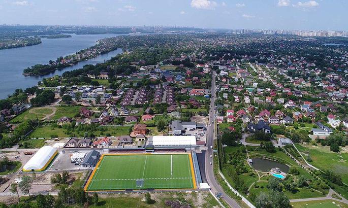 Арена Левый берег приняла свой первый матч в рамках ПФЛ