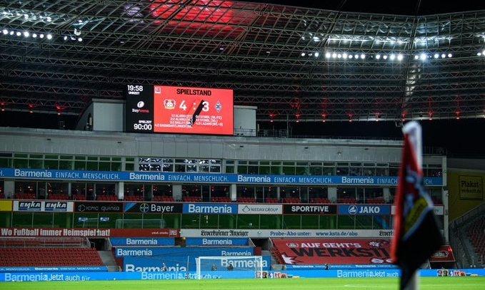 Байер - Боруссия Менхенгладбах 4:3. Обзор матча и видео голов