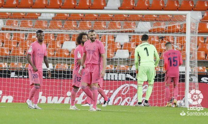 Разгром с пенальти. Валенсия - Реал 4:1. Видео голов и обзор матча