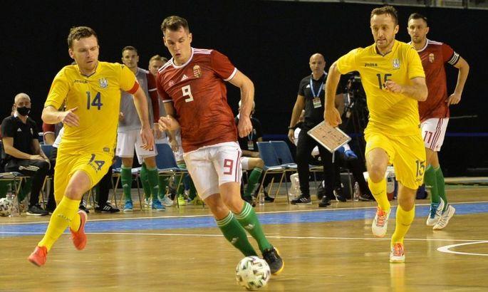 Международный футзал возвращается. Украина в спарринге обыграла Венгрию