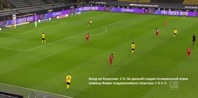 О трендах современного футбола на примере тактического анализа матча Боруссия - Бавария  - изображение 5