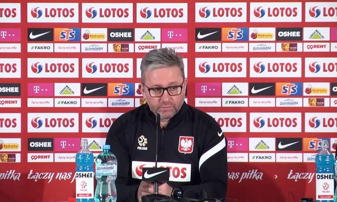 Тренер Польщі Бженчек перед матчем з Україною: Слід проводити ротацію, наскільки це можливо